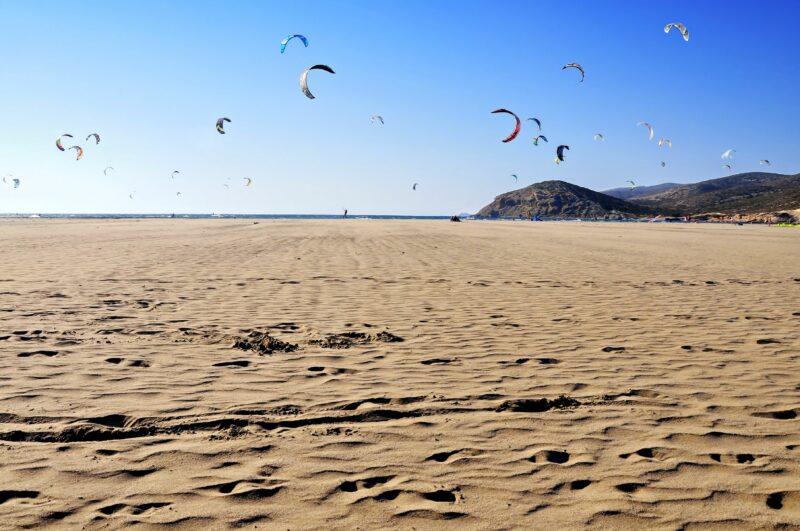 Prasonisi strand
