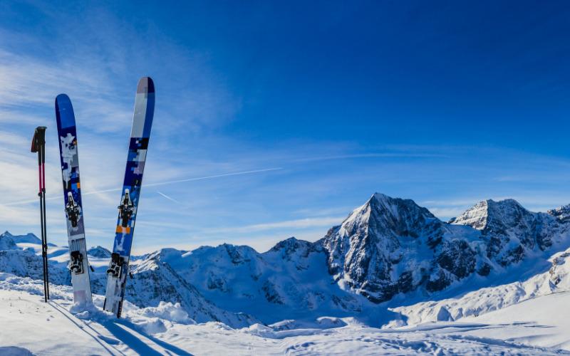 Skimaterialen